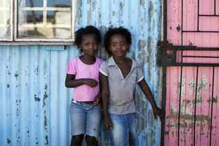 friends in Townships in South Africa