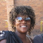 Mandy, my Soweto host in South Africa