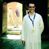 Mustapha my medina guide in Morocco
