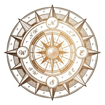 compass image for decoration