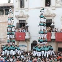 Castellana troupe performs in Barcelona Spain