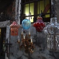 Murano glass of Venice Italy