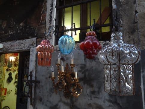 Murano glass of Venice Italy