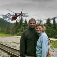 heli hiking Alaska