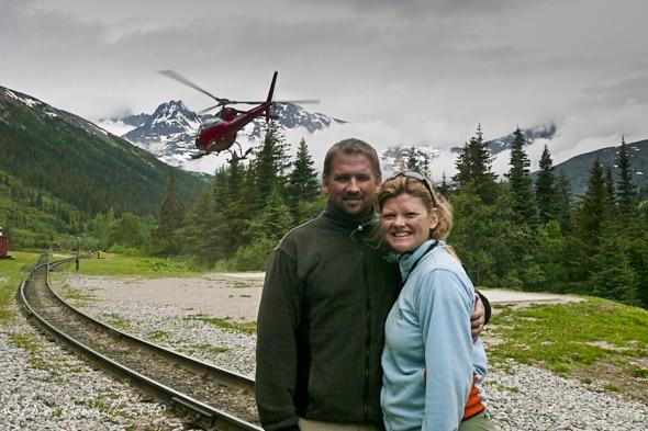 heli hiking Alaska