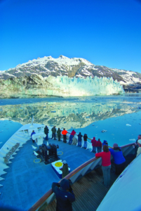 Alaska Uncruise ship is uncrowded