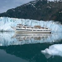 small cruiseships in Alaska