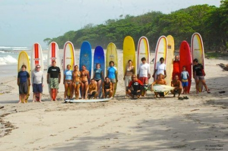 surf camp in Mal Pais Costa Rica