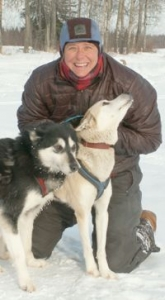 expert dogsled guide in Fairbanks Alaska