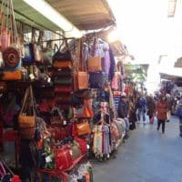 famous leather markets on florence italy