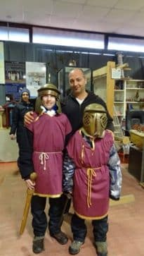 gladiator school in rome italy