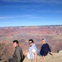 in awe of grand canyon american southwest