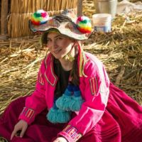 visiting lake titicaca Peru
