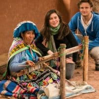 local crafts in Peru