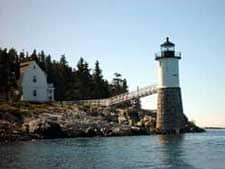 isle au haut lighthouse new england