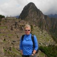 me at Machu Picchu Peru
