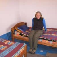 my bedroom in quechuan home Peru