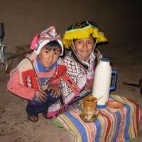 quechuan homestay in Amaru Peru