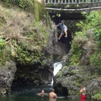 swimming holes on Hana highway Hawaii