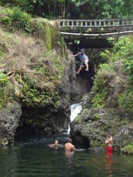 swimming holes on Hana highway Hawaii