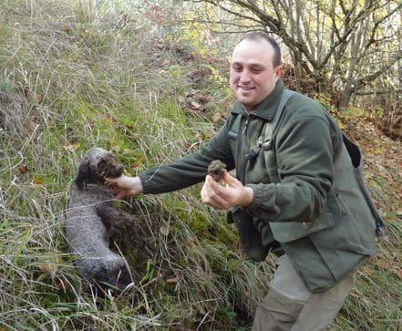 truffle farmer umbria italy