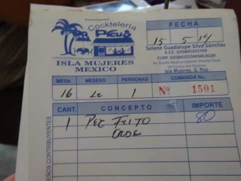 bill at Isla Mujeres