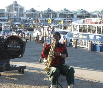 jazz scene in Cape Town in South Africa