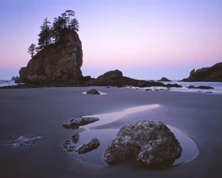 sea stacks Olympic pacific northwest