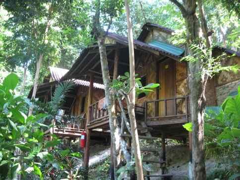 beach lodging in Thailand