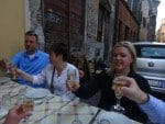 toasting with Prosecco Italy