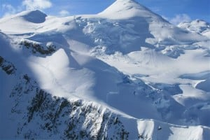 flight plane over Denali finds mountaineer's trail Alaska