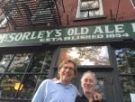 an age-old Irish haunt in NYC, McSorley's