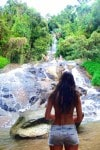 waterfall adventures in Thailand