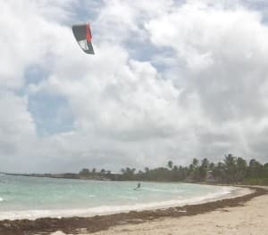 Austrian kite boarders travel far for the winds of Antigua!