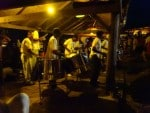 steel drum orchestra at Shirley Point, Antigua