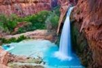 Supai Falls by the Grand Canyon US