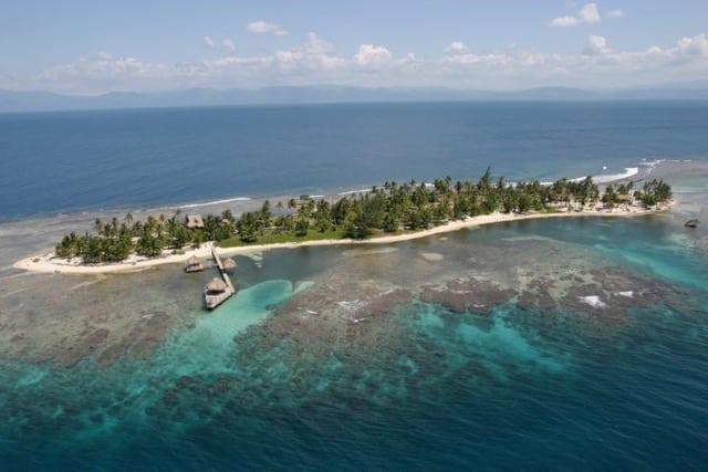 An Osprey's view: Private Island in Honduras