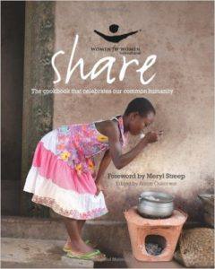 Share cookbook helps women from war torn countries