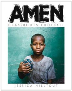 AMEN soccer book by Jessica Hilltop
