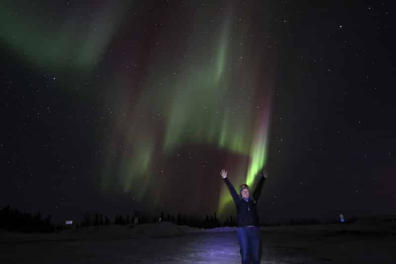 Go to Fairbanks for Northern Lights and dogsledding
