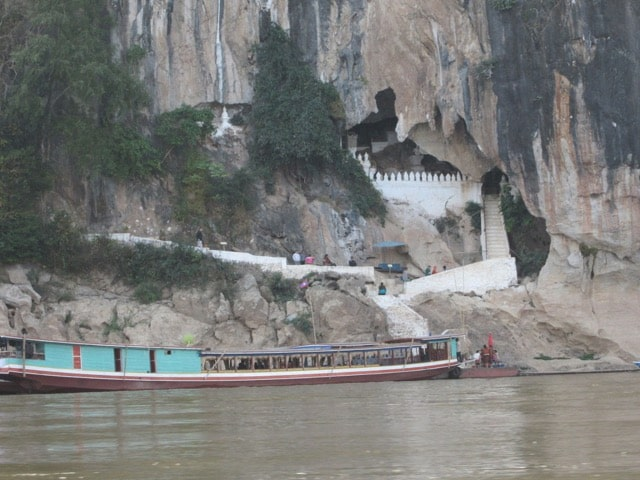 Adventure to Pak Ou Cave in Laos