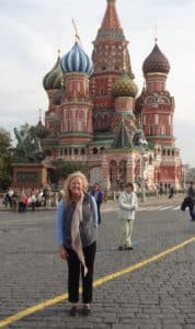 Me in Red Square, Moscow