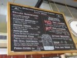 The Beechers cheese menu at Seattle's Pike Place market
