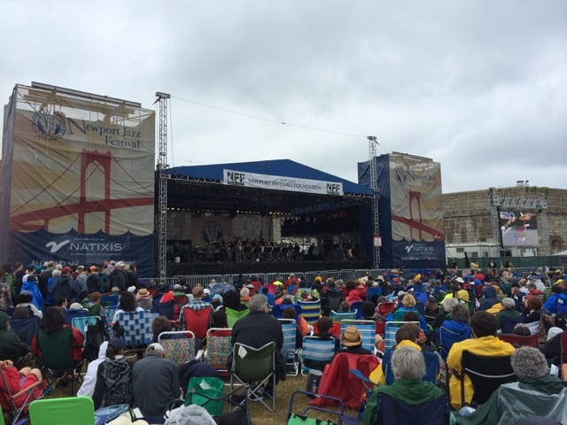 Newport Jazz Fest 2014 crowds not deterred by rain
