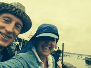 Rainy day of amazing jazz in Newport