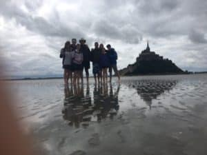 Walk the bay at Mt St Michel and you'll arrive like no one else!