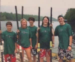Sculling camp for the family
