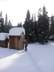 Backcountry hut stay in Colorado