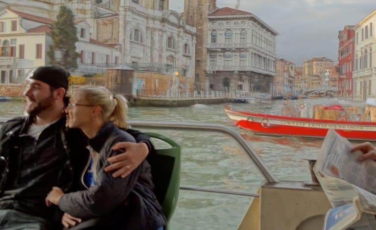 Italy-Venice-water-taxi-ride