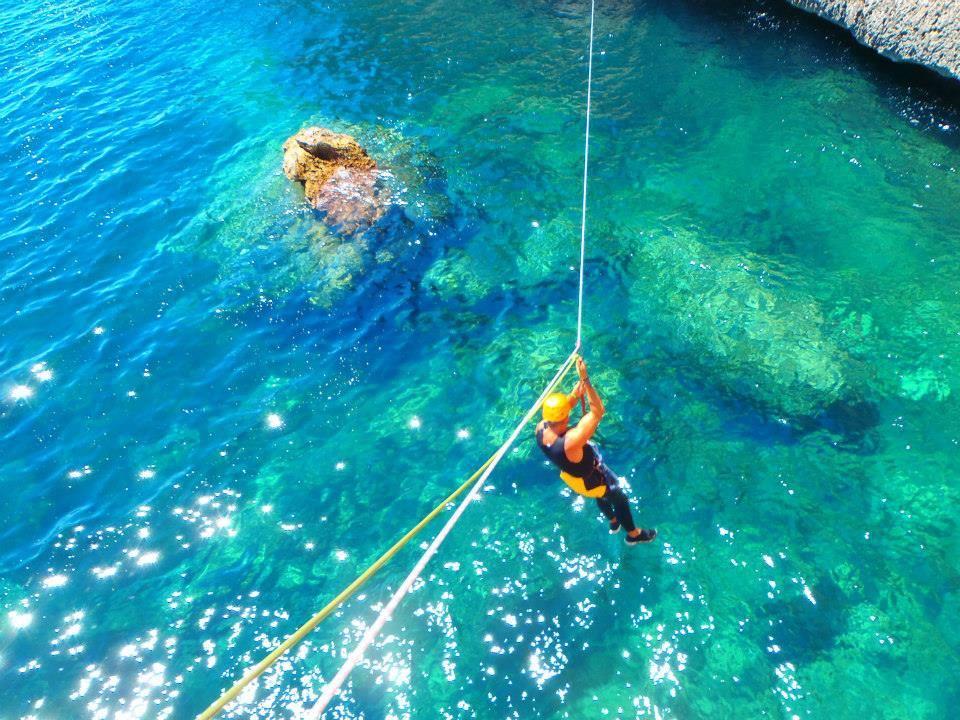 Mallorca-coasteering